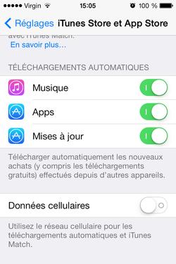 Optimiser iPhone 4 iOS 7 (12)