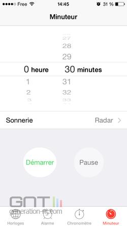 Minuterie musique iPhone (2)