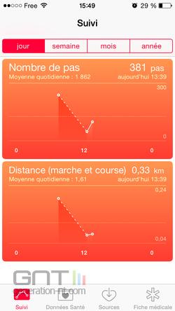 Podomètre iPhone (2)
