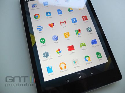 HTC Nexus 9 Lollipop