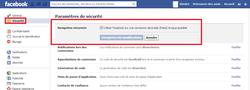 Facebook sécurisée HTTPS 2