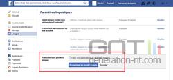 Publication plusieurs langues Facebook (3)