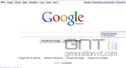 Google limite date 1