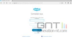 Skype navigateur Web (1)