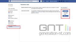 Vidéo automatique Facebook (2)