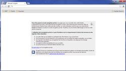 Google Chrome navigation privée 4