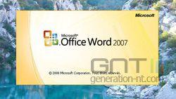Ecran accueil Office 3