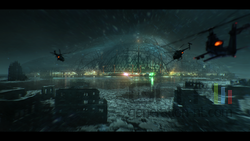 Crysis 3 - Liberty Dome NYC concept art