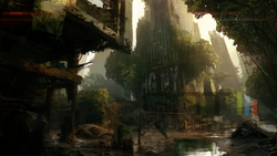 Crysis 3 - Islands concept art