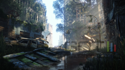Crysis 3 screen 7 - A Ceph Pinger on the prowl