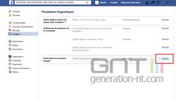 Publication plusieurs langues Facebook (2)