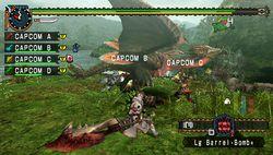 test monster hunter freedom unite psp image (1)