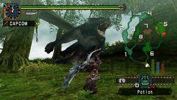 test monster hunter freedom unite psp image (3)
