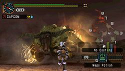test monster hunter freedom unite psp image (12)