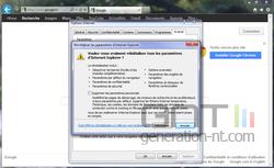 Internet Explorer réinitialisation 3