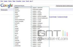 Google Dictionnaire 1