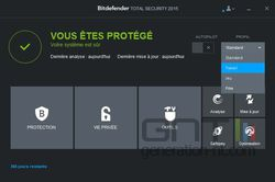 Bitdefender Total Security 2015 profils