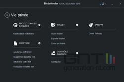 Bitdefender Total Security 2015 vie privée