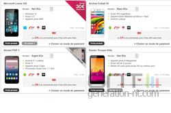 Lumia 550 Free Mobile