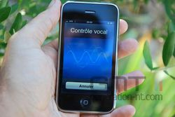 iPhone 3Gs controle vocal