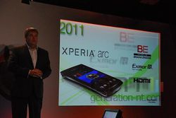 MWC Sony Ericsson Xperia Arc