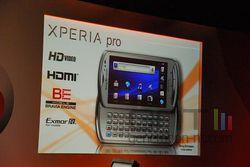 MWC Sony Ericsson Xperia Pro