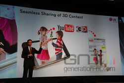 MWC conf LG Optimus 3D Youtube