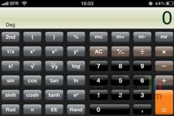 Calculatrice iOS 002