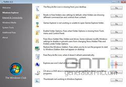 FixWin Windows Explorer