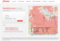 Free couverture 4G