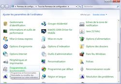 Fonctions inutiles Windows 2