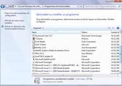 Fonctions inutiles Windows 3