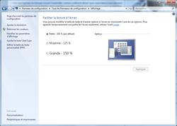 Windows affichage mediacenter 3