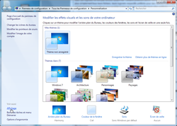 Windows affichage mediacenter 2