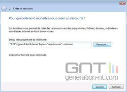 Internet Explorer démarrage 1