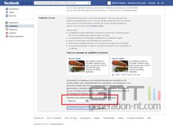 Facebook publicités 3