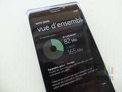 Nokia Lumia 925 Data Sense