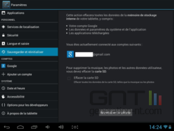 Remise zéro Android (2)