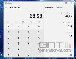 Calculatrice Windows 10 (2)
