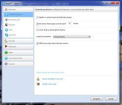 Skype absence automatique 3