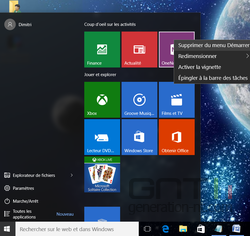 Menu Démarrer Windows 10 (2)