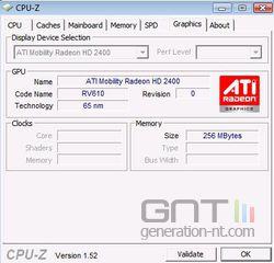 CPU-Z 1.52 GPU