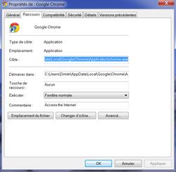 Google Chrome navigation privée 2
