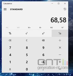 Calculatrice Windows 10 (1)