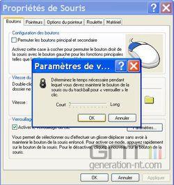 Verrouillage clic souris Windows 4