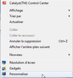 Fonds écran Windows 7 1