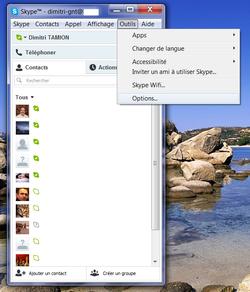 Skype absence automatique 2