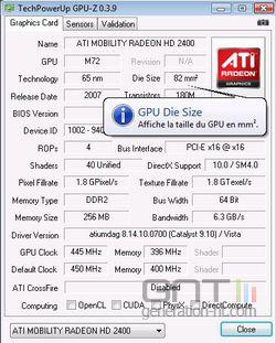 GPU-Z français