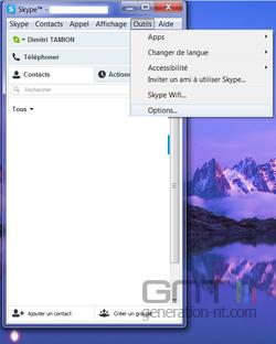 Skype bloquer appels inconnus 1