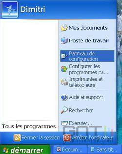 Verrouillage clic souris Windows 1